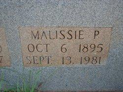"""Malissie Samantha """"Lissie"""" <I>Porter</I> Bagwell"""