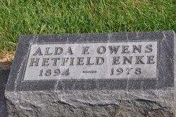Alda F <I>Owens</I> Enke