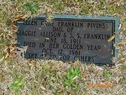 Ellen Gray <I>Franklin</I> Bivins