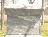 Fannie Ellen <I>McCutcheon</I> Evans