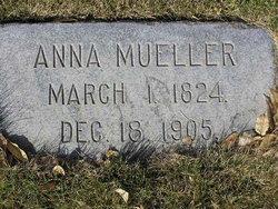 Anna <I>Dietrich</I> Mueller