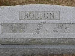 "Aurich Rosser ""Botch"" Bolton, Jr"