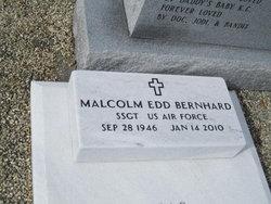 """SSGT Malcolm Edd """"Mac"""" Bernhard"""