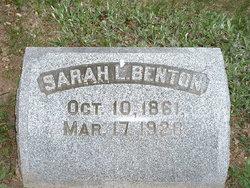 Sarah L. Benton