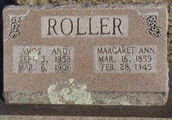 Margaret Ann <I>Herd</I> Roller