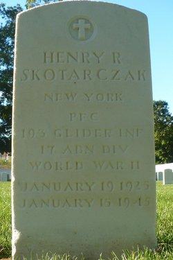 PFC Henry R Skotarczak