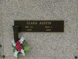 Clara Bell <I>Parrish</I> Austin