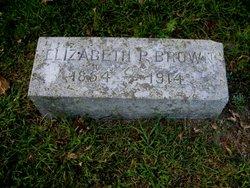 Elizabeth P. Brown