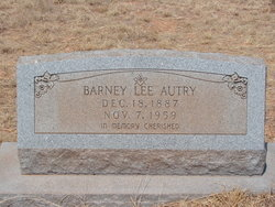 Barney Lee Autry