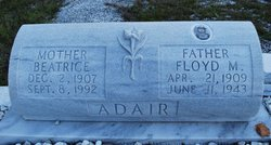 Floyd M Adair
