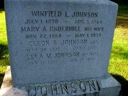 Mary A. <I>Underhill</I> Johnson