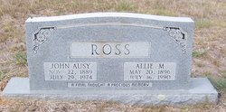 Allie <I>Montgomery</I> Ross
