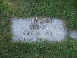 Faith <I>Lamb</I> Bryan