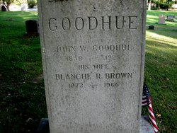 Blanche R. <I>Brown</I> Goodhue