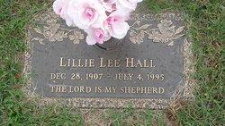 Lillie Lee <I>Johns</I> Hall