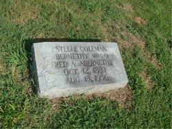 Estelle <I>Coleman</I> Abernethy