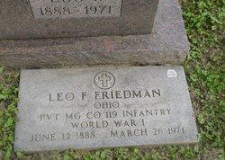 Leo Francis Friedman
