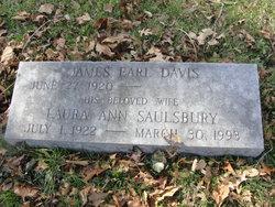 Laura Ann <I>Saulsbury</I> Davis