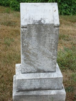 Adelina M A  Heidel (1885-1896) - Find A Grave Memorial
