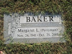 Margaret L <I>Perryman</I> Baker