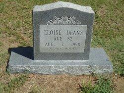 Eloise <I>Price</I> Deans