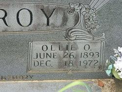 Ollie Olivia <I>Nicholas</I> McElroy