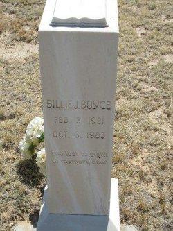 Billie J Boyce