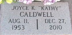 "Joyce Kathleen ""Kathy"" <I>Russell</I> Caldwell"
