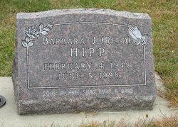 Barbara J. <I>Reed</I> Hipp
