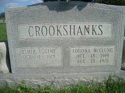 Louona Dell <I>McClung</I> Crookshanks
