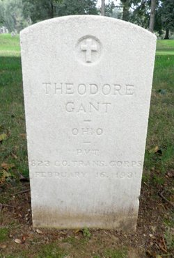PVT Theodore Gant