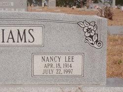 Nancy Lee <I>Cothren</I> Williams