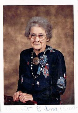 Edna Alice <I>Snoddon</I> Brooks