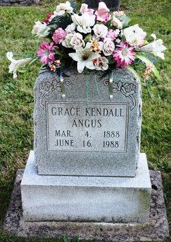 Grace <I>Kendall</I> Angus