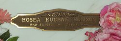 Hosea Eugene Ellison