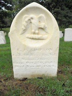 Ebenezer P Simpson