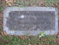 Rev John Anthony Weidinger