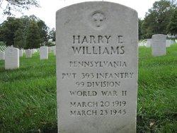 Harry E Williams