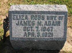 """Elizabeth """"Eliza"""" <I>Robb</I> Adair"""