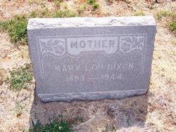 Mrs Mary Lou <I>Milner</I> Dixon