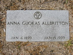 Anna Marie <I>Guokas</I> Allbritton