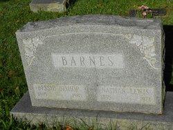 Bessie <I>Bishop</I> Barnes