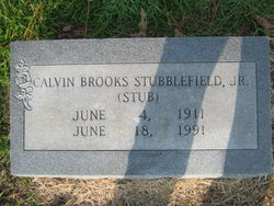 Calvin Brooks Stubblefield, Jr