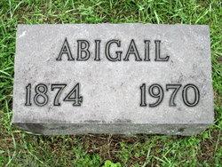 Abigail <I>Peterson</I> Hodge