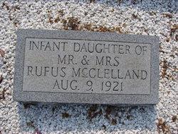Infant Daughter McClelland