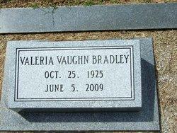 Valeria <I>Vaughn</I> Bradley