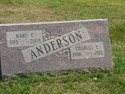 Mary C <I>Silbaugh</I> Anderson