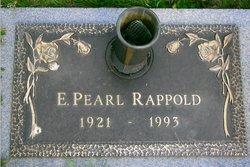 Edith Pearl <I>Scott</I> Rappold