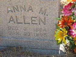 Anna Mamie <I>Miller</I> Allen