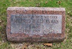Mildred H <I>Oppenheim</I> Glicksman